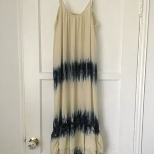 Rip Curl Women's Maxi Sundress Boho Surf Tie Dye